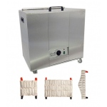 Relief Pak® Heating Unit, 24-Pack Capacity, Mobile with (6) Standard, (6) Neck, (6) Oversize Packs, 110V - Available July