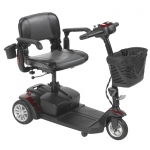Drive Medical Spitfire EX2 3-Wheel Travel Scooter, Standard Battery