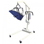 Bariatric Battery Powered Patient Lift with rechargeable battery