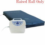 "10"" Low Air Loss &  Alternating Pressure Mattress System Cell-on-Cell w/ raised rail"
