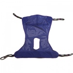 "Mesh Sling - Full Body with Commode: Medium,  53"" x 42"""